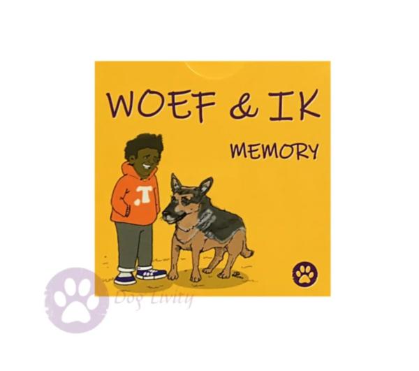 Woef en ik - memory spel hond kind educatief