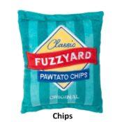Fuzzyard Plush toy Chips stevige hondenknuffel knuffel speelgoed hond