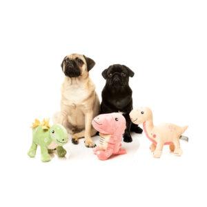Fuzzyard Plush toy Dinos stevige hondenknuffel knuffel speelgoed hond