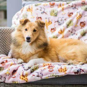 Zachte stevige hondendekens deken fleece fleecedeken hond klein middel extra groot