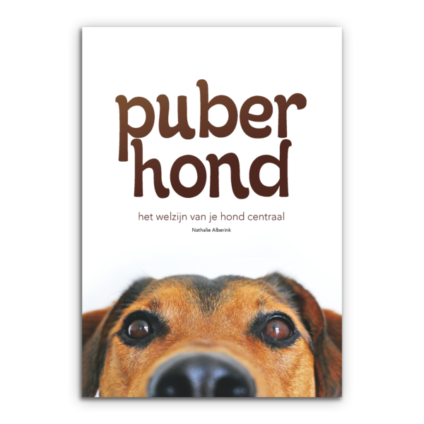Boek puber hond nathalie alberink puberhond pubertijd honden puppy