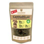 SPARROW Pet CannaRelax Snacks 200g stress angst kalmerend middel hond puppy