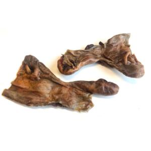 Natuurlijke gedroogde snack hondenbot paard paardenneus paardensnuit neus snuit