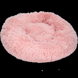 Fluffy donutmand donut mand hond kat 50cm 60cm roze puppy