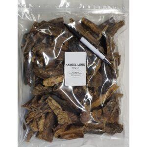 Natuurlijk gedroogde kamelenlong kamelen long stukken hond