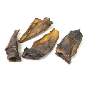 Black Angus rund oren rundersnack runderoren hondensnack gezond